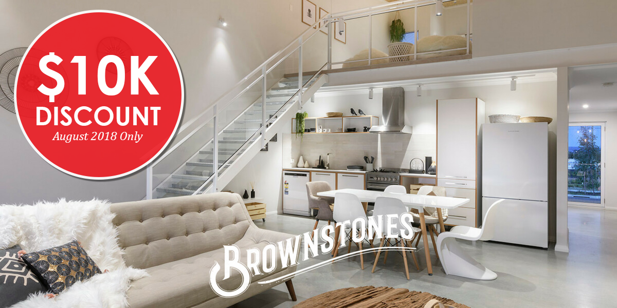 EXPRESS LIVING BROWNSTONES – $10K DISCOUNT FOR AUGUST!