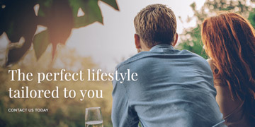 the perfect lifestyle tailored to you